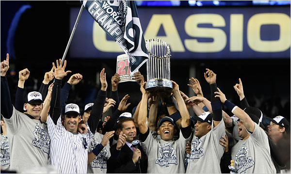 New York Yankees 2009 World Series Champs