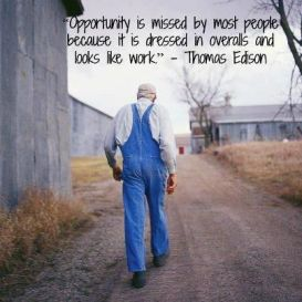Opportunity Quote - Thomas Edison